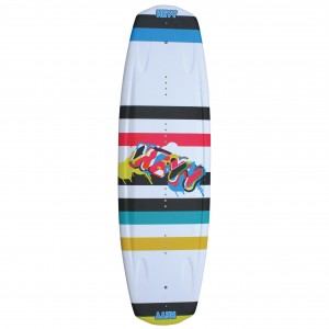 The Black Stripes Wakeboard 142cm top-1